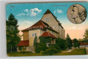 AK / Ansichtskarte Jena Thueringen Schillers Traukirche Stempeldurchdruck