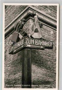 AK / Ansichtskarte Lenzkirch Wegweiser Kat. Lenzkirch