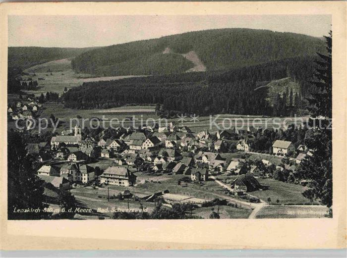AK / Ansichtskarte Lenzkirch Panorama Panorama  Kat. Lenzkirch