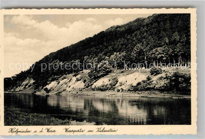 AK / Ansichtskarte Holzminden Weser Kiekenstein Kat. Holzminden