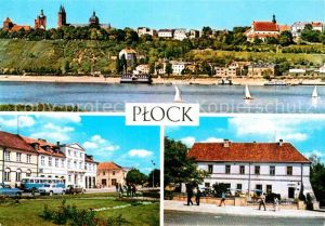 AK / Ansichtskarte Plock Panorama miasta Plac Gabriela Narutowicza Kawiarnia Zamkowa Kat. Plock