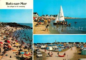 AK / Ansichtskarte Batz sur Mer Strandpartien Camping Kat. Batz sur Mer
