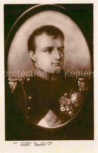 AK / Ansichtskarte Napoleon Bonaparte Kuenstler Isabey Musee du Louvre  Kat. Persoenlichkeiten