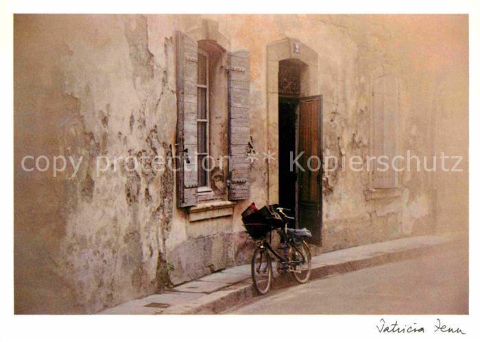 AK / Ansichtskarte Kuenstlerkarte Patricia Fenn La Bicyclette du Facteur  Kat. Kuenstlerkarte