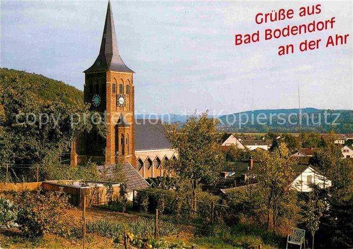 Ak Ansichtskarte Bad Bodendorf St Sebastianus Kirche Kat Sinzig
