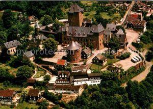 AK / Ansichtskarte Burg Wupper Schloss Wahrzeichen des Bergischen Landes Fliegeraufnahme Kat. Solingen