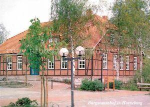 AK / Ansichtskarte Horneburg Niederelbe Gemeinschaftshaus Heimatverein Horneburg Kat. Horneburg