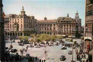 AK / Ansichtskarte Zaragoza Aragon Spanischer Platz Kat. Zaragoza Saragossa