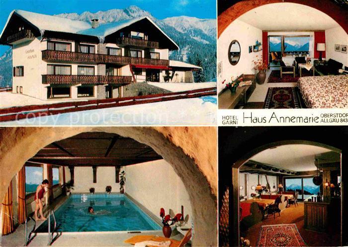 AK / Ansichtskarte Oberstdorf Hotel Haus Annemarie Kat. Oberstdorf