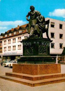 AK / Ansichtskarte Hanau Main Brueder Grimm Denkmal Kat. Hanau