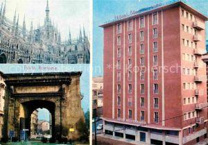 AK / Ansichtskarte Milano Hotel Mediterraneo Porta Romana Kat. Italien