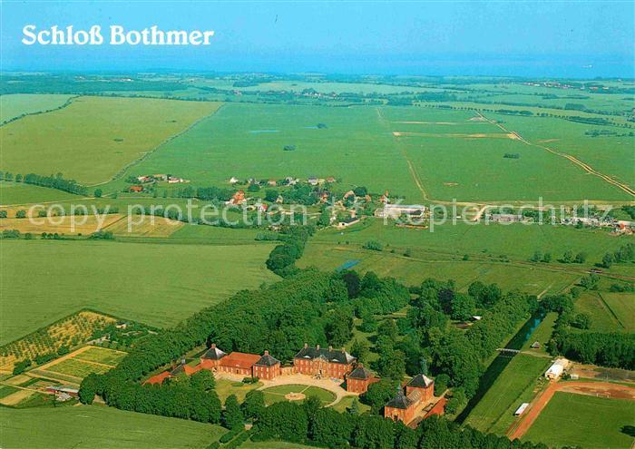 AK / Ansichtskarte Kluetz Schloss Bothmer Fliegeraufnahme / Kluetz /Nordwestmecklenburg LKR