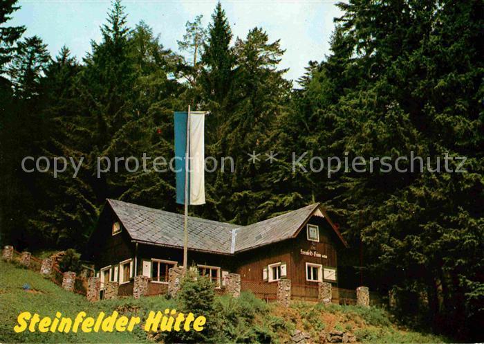 AK / Ansichtskarte Ternitz Steinfelder Huette Kat. Ternitz Schwarzatal