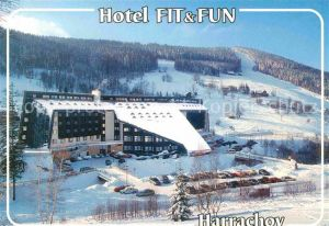 AK / Ansichtskarte Harrachov Harrachsdorf Hotel Fit und Fun Kat. Harrachsdorf