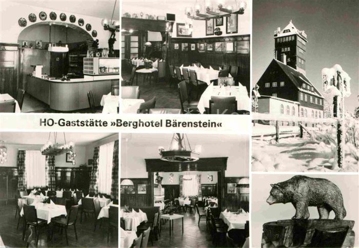 AK / Ansichtskarte Baerenstein Annaberg Buchholz Restaurant Berghotel Baerenstein  Kat. Baerenstein