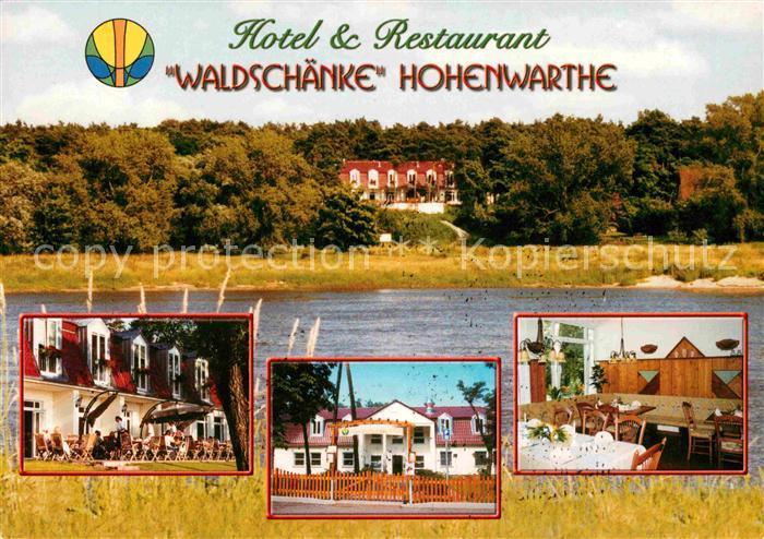 AK / Ansichtskarte Hohenwarthe Hotel Restaurant Waldschaenke Kat ...