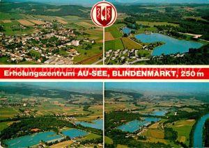 AK / Ansichtskarte Blindenmarkt Au See Luftaufnahme Kat. Blindenmarkt