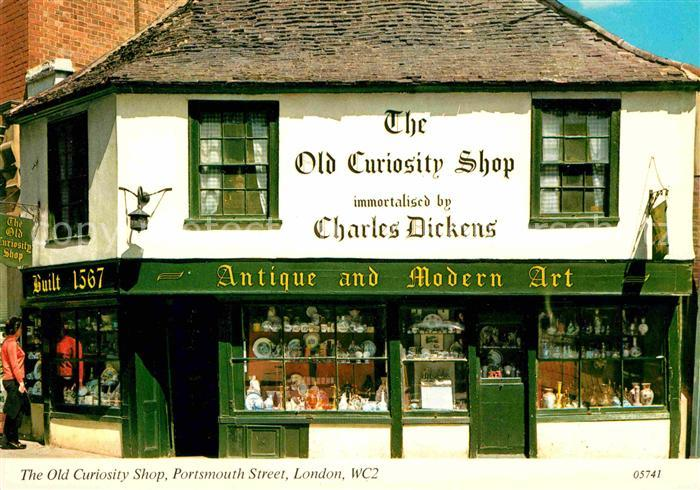 AK / Ansichtskarte London Old Curiosity Shop Portsmouth Street Kat. City of London