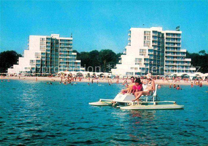 AK / Ansichtskarte Albena Villegiature Strand Wassertreten Kat. Bulgarien