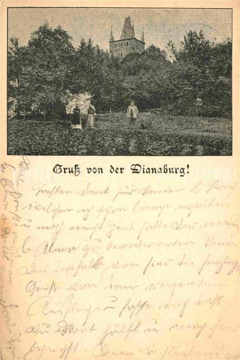 AK / Ansichtskarte Ulm Wetzlar Dianaburg / Greifenstein /Lahn-Dill-Kreis LKR