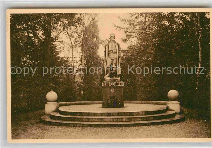 AK / Ansichtskarte Goettingen Niedersachsen Kriegerdenkmal des 82er Infanterie Regiments Kat. Goettingen