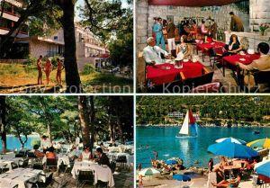 AK / Ansichtskarte Dubrovnik Ragusa Hotel Splendid Restaurant Strand Kat. Dubrovnik