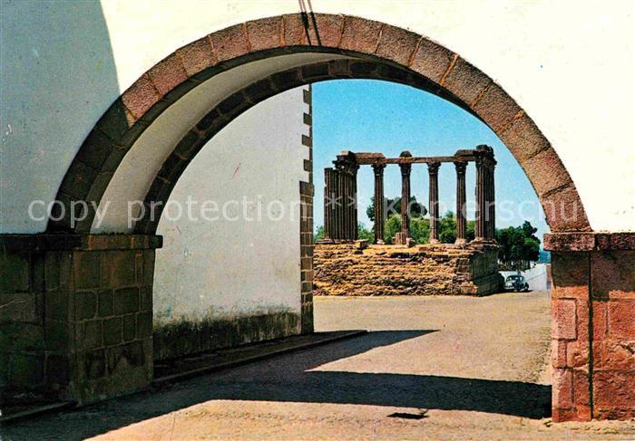 AK / Ansichtskarte Evora Templo de Diana Dianatempel Kat. Evora