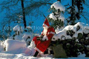 AK / Ansichtskarte Weihnachtsmann Nikolaus  Kat. Greetings