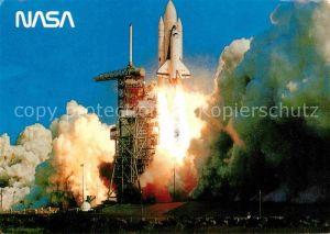 AK / Ansichtskarte Raumfahrt Space Shuttle Columbia Kennedy Space Center  Kat. Flug