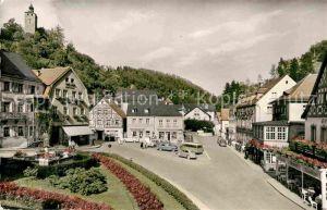 AK / Ansichtskarte Bad Berneck im Fichtelgebirge Marktplatz Kat. Bad Berneck Fichtelgebirge