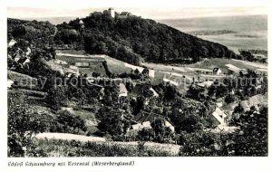 AK / Ansichtskarte Schaumburg Rinteln Schloss Schaumburg mit Rosental Kat. Rinteln