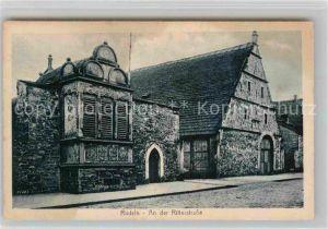 AK / Ansichtskarte Rinteln Weser An der Ritterstrasse Kat. Rinteln
