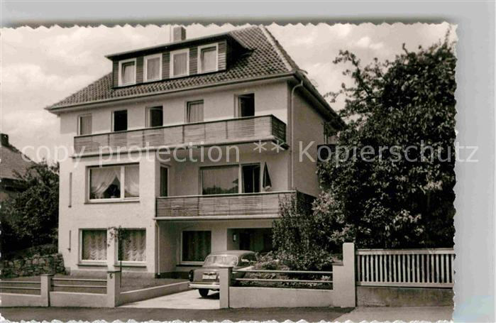 AK / Ansichtskarte Bad Pyrmont Haus am Felsenkeller Kat. Bad Pyrmont
