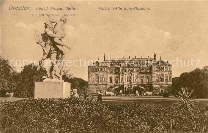 AK / Ansichtskarte Dresden Grosser Garten Palais  Kat. Dresden Elbe