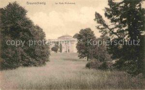 AK / Ansichtskarte Braunschweig Park Richmond Kat. Braunschweig
