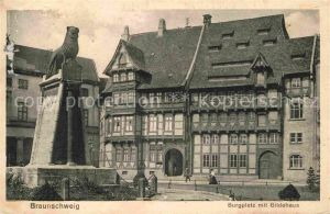 AK / Ansichtskarte Braunschweig Burgplatz Gildehaus Kat. Braunschweig
