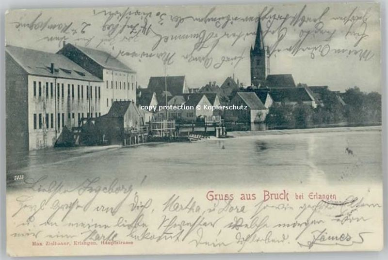 Bruck bei Erlangen x 1899