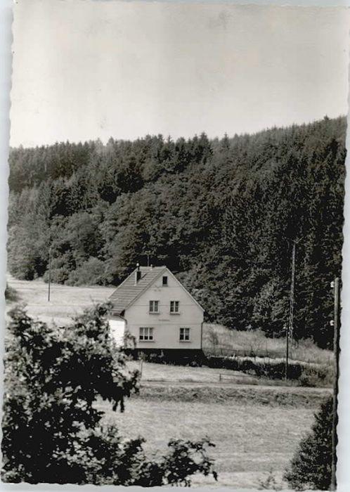 Wimmersbach Haus Waldfrieden *