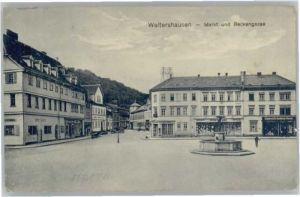 Waltershausen Markt Beckengasse x