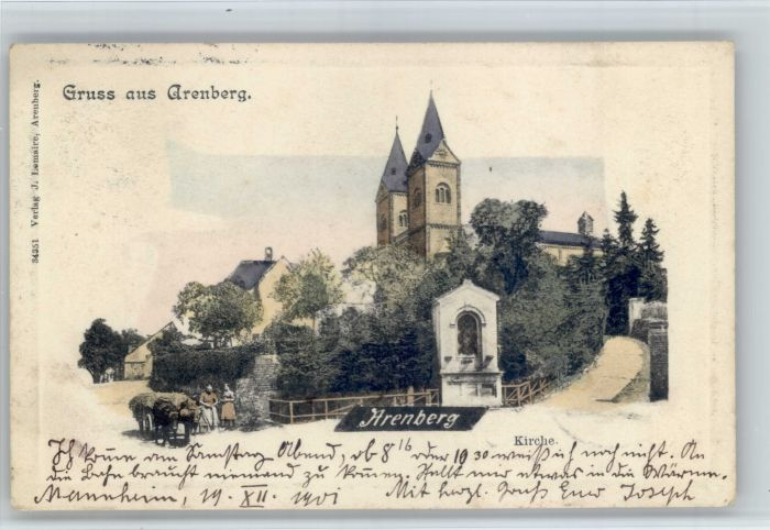 Arenberg Arenberg Kirche x /  /