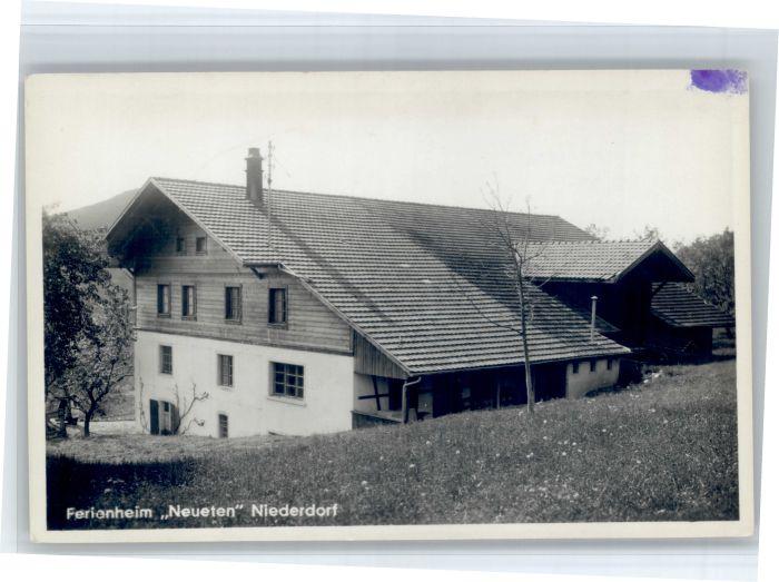 Niederdorf Niederdorf Ferienheim Neueten * /  /