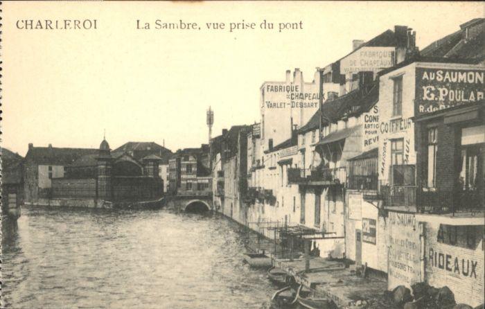 Charleroi Charleroi Pont Sambre * /  /