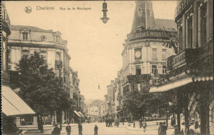 Charleroi Charleroi Rue Montagne * /  /