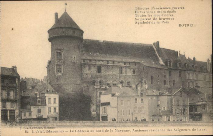 Laval Laval Chateau Mayenne * /  /