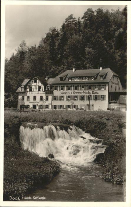 Doos Doos Fraenkische Schweiz Behringersmuehle Plankenfels Gasthof Heinlein * /  /