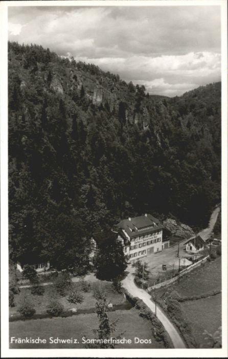 Doos Gasthaus Heinlein Behringersmuehle Fraenkische Schweiz  *