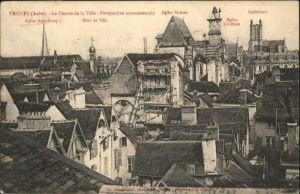 Troyes Eglise Saint-Remy  Hotel de Ville Eglise St. Jean Eglise St. Urbain Cathedrale x