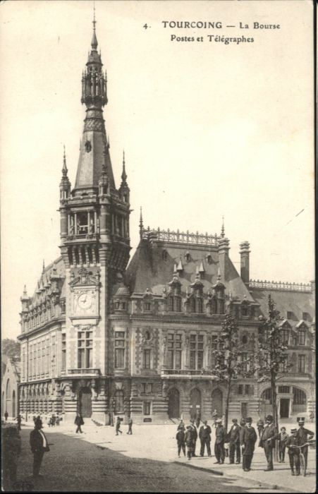Tourcoing Bourse Postes Telegraphes *
