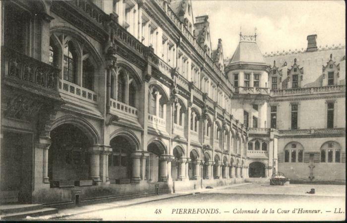 Pierrefonds Colonnade Cour d'Honneur *