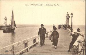 Trouville Port Leuchtturm *
